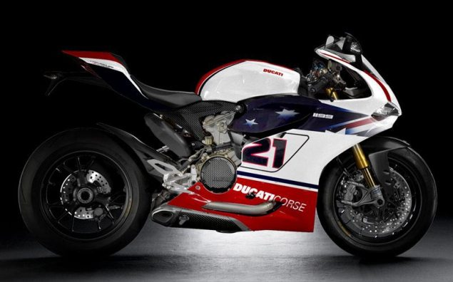 Rendered: Ducati 1199 Panigale Race Replicas Ducati 1199 Panigale race replica Troy Bayliss 635x396
