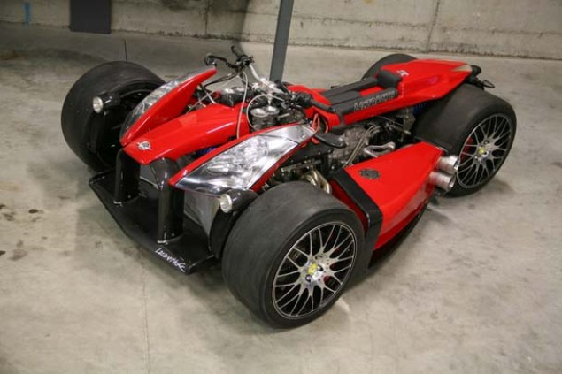 Lazareth Wazuma V8F   The Worlds Most Expensive Quad Lazareth Wazuma V8F 10