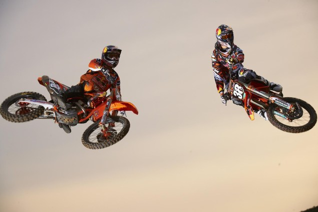 You Can Always Count on KTM for Some Good Photos Red Bull KTM Supercross Musquin Roczen 03 635x423