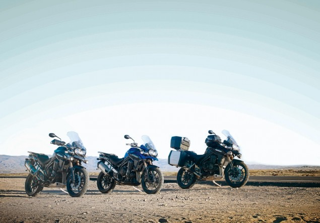Triumph Posts 7% Sales Increase for First Half of 2011   Announces Production in India Triumph Tiger Explorer 635x444