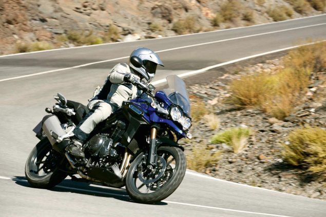 Triumph Tiger Explorer Gets $15,699 MSRP Price Tag 2012 Triumph Tiger Explorer 02 635x423