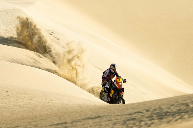 Cyril Despres Wins Fourth Dakar Rally Title Cyril Despres KTM Dakar Rally 2012 40 635x421