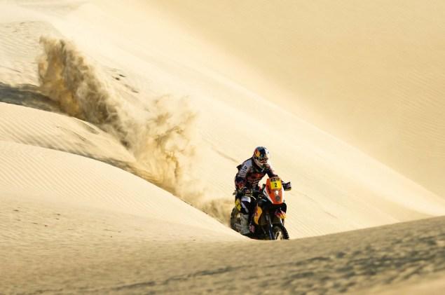 Cyril Despres Wins Fourth Dakar Rally Title Cyril Despres KTM Dakar Rally 2012 40 635x421