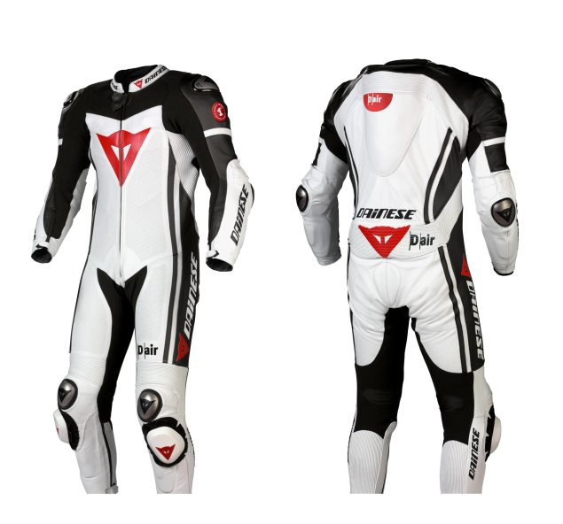 The Dainese D Air Racing Airbag Suit Comes to America Dainese D Air Racing Suit 635x592