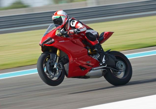 Yas Marina Circuit + Troy Bayliss + Ducati 1199 Panigale S 2012 Ducati 1199 Panigale S Yas Marina Circuit 01 635x444
