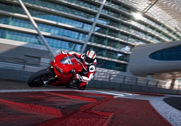 Yas Marina Circuit + Troy Bayliss + Ducati 1199 Panigale S 2012 Ducati 1199 Panigale S Yas Marina Circuit 021 635x444