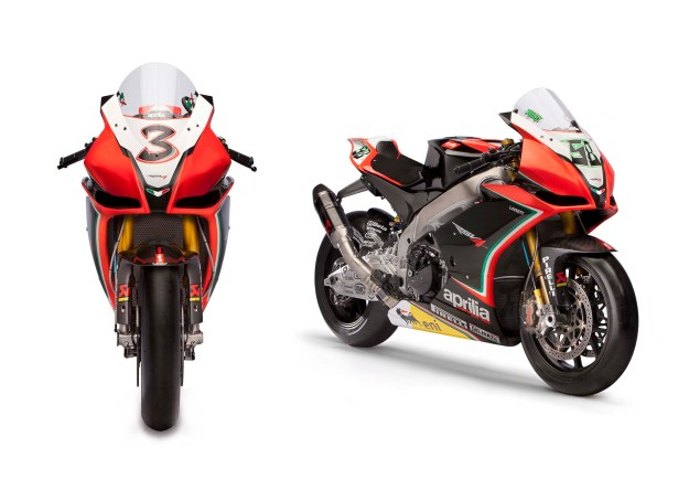 14 Photos of the 2012 World Superbike Spec Aprilia RSV4 Aprilia Racing WSBK team RSV4 11 635x444