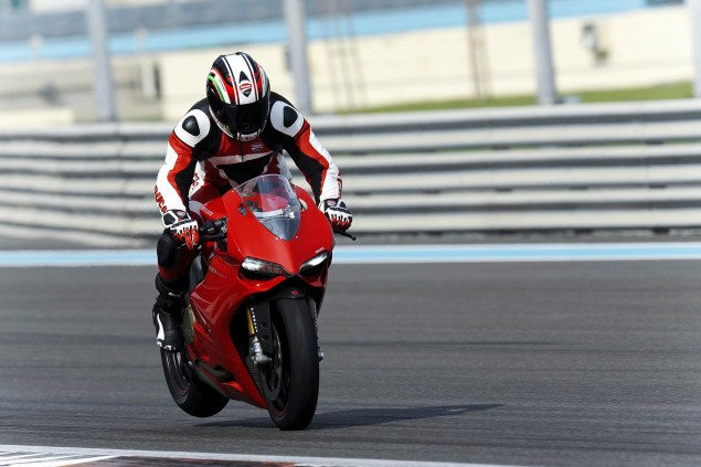 Call Your Mother Because Here is the Ultimate Ducati 1199 Panigale Photo Gallery Ducati 1199 Panigale Yas Marina Circuit 15 635x423