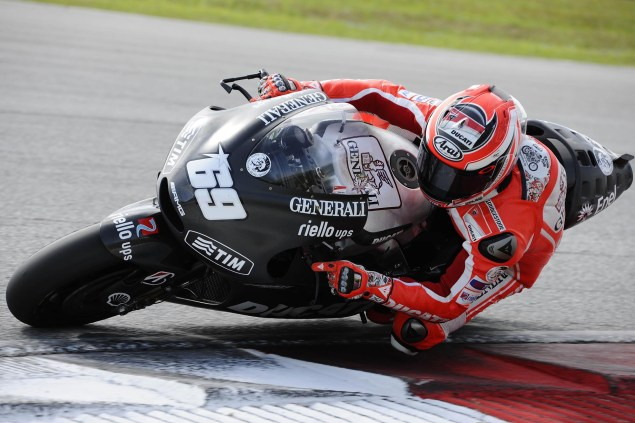 MotoGP: Test Results & Photos from Day 3 at Sepang Ducati Corse Sepang Day 2 Nicky Hayden 1 635x423