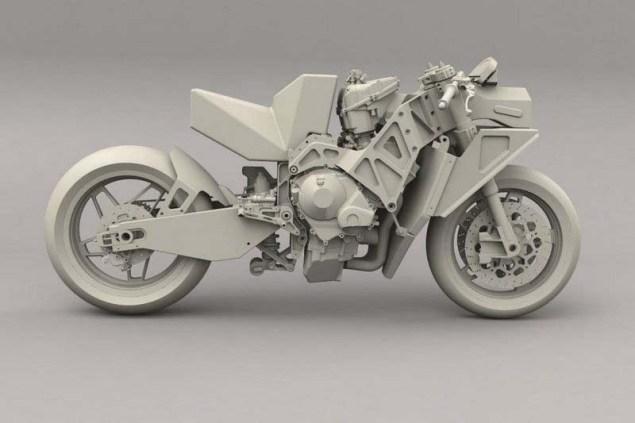 Rondine Moto2 Race Bike Rondine Moto2 renders 06 635x423