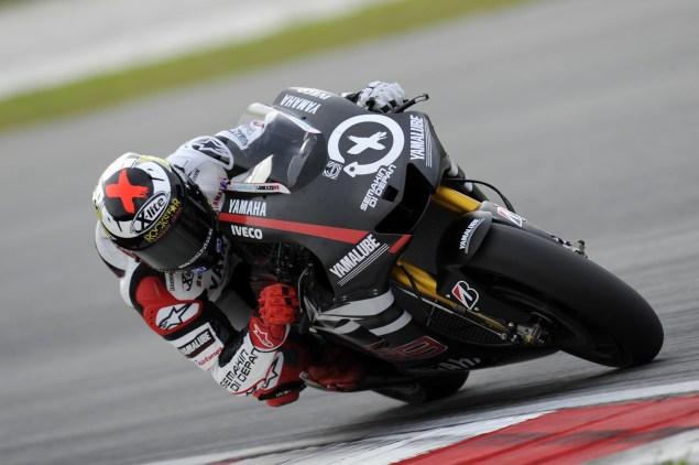 MotoGP: Test Results & Photos from Day 2 at Sepang Yamaha Racing Sepang Day 2 Jorge Lorenzo 4 635x422