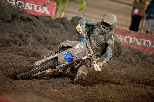 Photos: The Mud of SX at Daytona AMA Supercross SX Daytona mud Yamaha 04 635x423