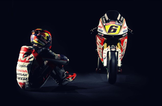 LCR Honda RC213V Makes Its Debut LCR Honda RC213V Stefan Bradl 04 635x415