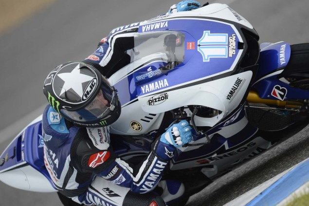 MotoGP: Testing at Jerez Provides Few Surprises Yamaha Racing Jerez MotoGP test 2012 33 635x423