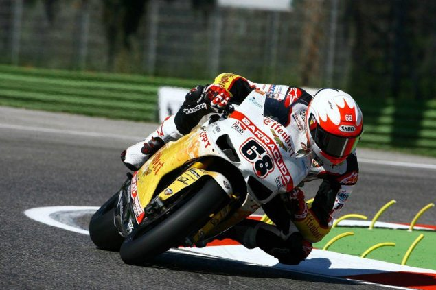 WSBK: Brett McCormick Stable After Neck Fracture at Assen Brett McCormick Imola Effenbert Liberty Racing WSBK 635x423