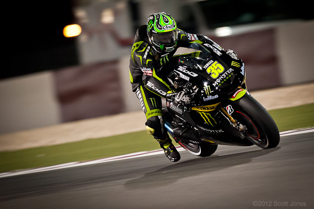 Photo of the Week: Forged Mettle Cal Crutchlow MotoGP Qatar Scott Jones