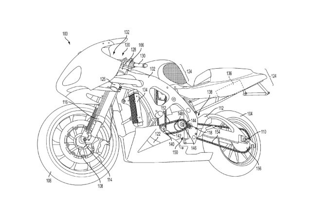So You Want to Know How to Build a Front Wheel Regenerative Braking System on a Motorcycle? Chip Yates KERS patent 1 635x452