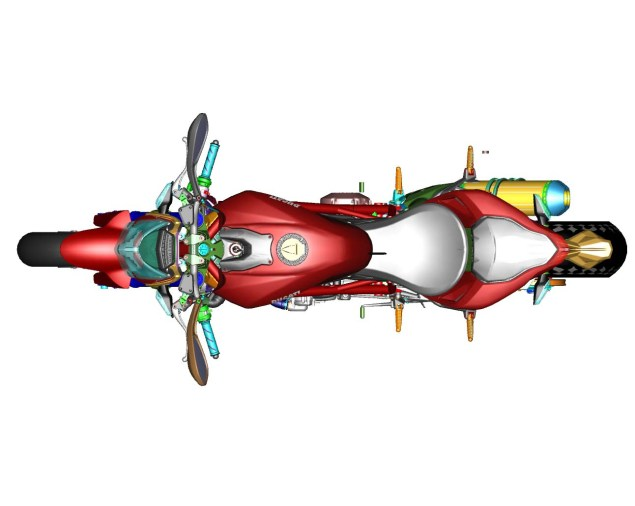 CAD Drawings of the Ducati Streetfighter 848 Ducati Streetfighter 848 CAD 19 635x506