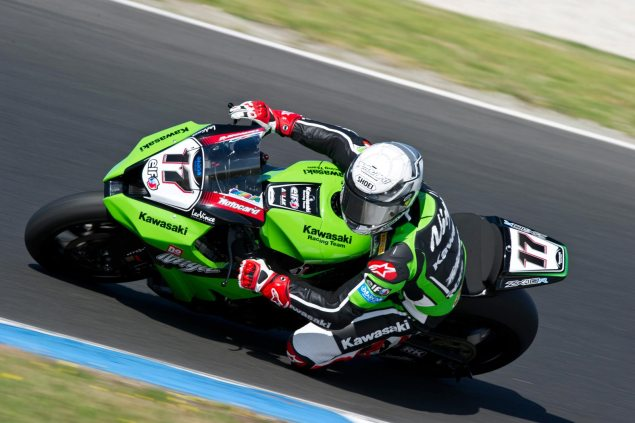 WSBK: Joan Lascorz Airlifted from Post Race Test at Imola Joan Lascorz WSBK Kawasaki 635x423
