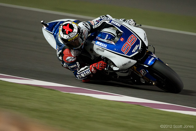 MotoGP: The Rebirth of Racing at the Qatar GP Jorge Lorenzo MotoGP Qatar GP Scott Jones