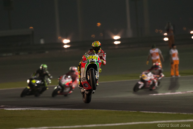 MotoGP: Sunday at Qatar Round Up: Of Exhaustion, Arm Pump, & Failed Marriages MotoGP Qatar GP Sunday Scott Jones 141