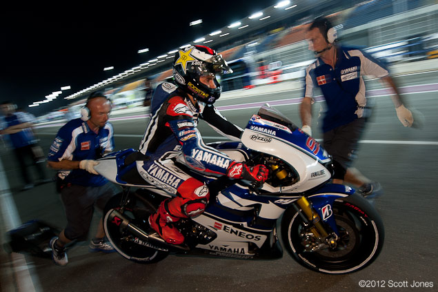 Thursday at Qatar with Scott Jones qatar gp 2012 scott jones Jeorge