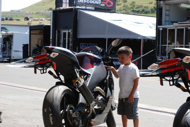 Photos: A Future AMA Star in the Making EBR 1190RS boy 05 635x425
