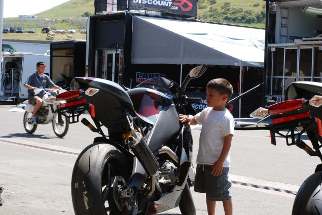 Photos: A Future AMA Star in the Making EBR 1190RS boy 07 635x425