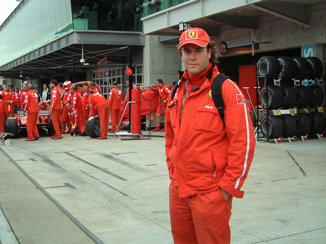 From Kimi Raikkonen to Casey Stoner   An Interview with HRCs Rhys Edwards Ferrari