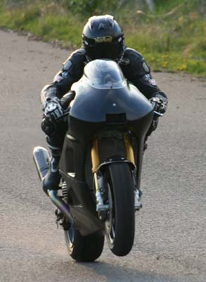 Norton V4 Gets Shakedown Test Ahead of Isle of Man TT Norton V4 Isle of Man TT test 03