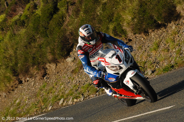 IOMTT: McGuinness Sends a Message at First Practice Night john mcguinness honda tt legends isle of man tt daniel lo 635