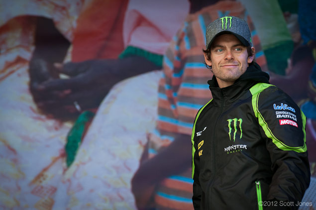 Thursday at Silverstone with Scott Jones Day of Champions Cal Crutchlow