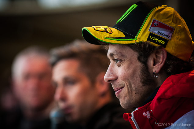 Thursday at Silverstone with Scott Jones Day of Champions Rossi1