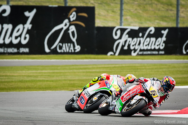 Sunday at Silverstone with Scott Jones  Rossi Bradl