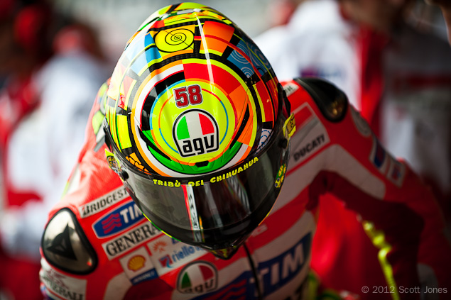 Learn to Shoot MotoGP Racing Like a Pro from Scott Jones valentino rossi agv helmet scott jones
