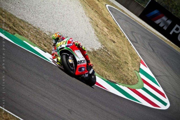 Where Will Rossi End Up Racing in 2013 and Beyond? Mugello Italian GP MotoGP Thursday Jules Cisek 171 635x423