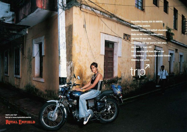Royal Enfield Understands Motorcycle Branding Royal Enfield Tripping ads 09 635x448