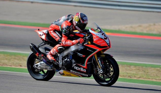 WSBK: Duel to the Finish for Race 1 at Aragon Saturday Biaggi action 635x366