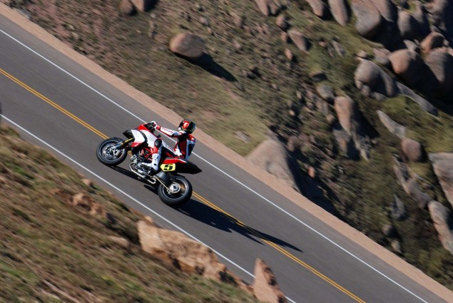 PPIHC: Motorcycles Shatter 10 Minute Barrier at Pikes Peak 2012 Pikes Peak International Hill Climb 21 635x425