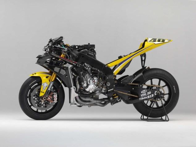 XXX: Valentino Rossis 2006 Yamaha YZR M1 Valentino Rossi 2006 Yamaha YZR M1 hi res 11 635x476