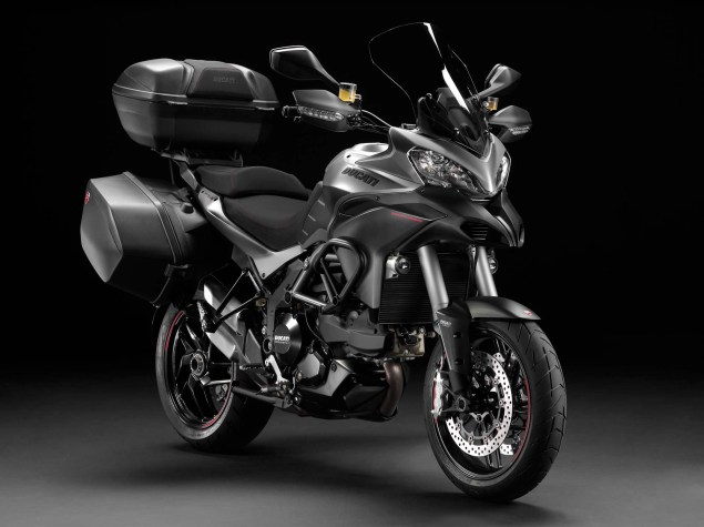 Ducati Multistrada 1200 Gets Semi Active Suspension 2013 Ducati Multistrada 1200 S Granturismo 02 635x475