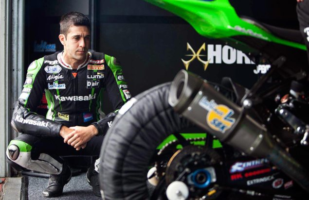 WSBK: Joan Lascorz & Kawasaki Talk for the First Time about the Crash at Imola Joan Lascorz WSBK Kawasaki 635x412