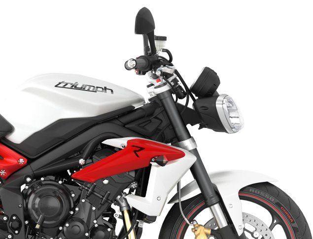 2013 Triumph Street Triple R   Loses Weight, Looks Hotter 2013 Triumph Stree Triple R 635x486