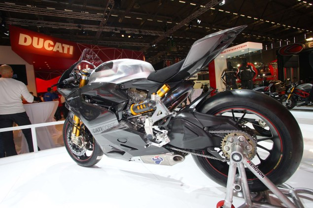 Ducati Corse Confirms Carlos Checa & Panigale RS13 in WSBK   Hints at Factory Team for 2013 2013 ducati 1199 panigale rs13 01 635x423