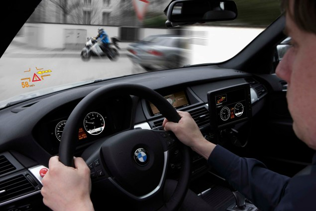 BMW ConnectedRide Could Help Drivers See Motorcyclists BMW ConnectedRide car to x 16 635x423