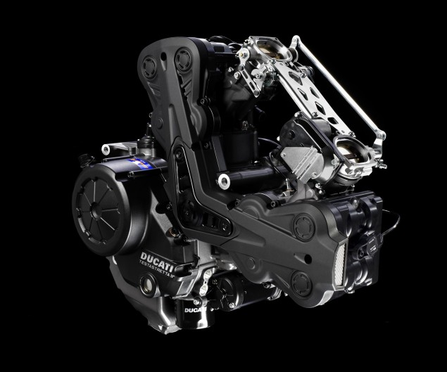 Ducati North America Q3 2012 Sales up 24% Ducati Diavel engine 635x529