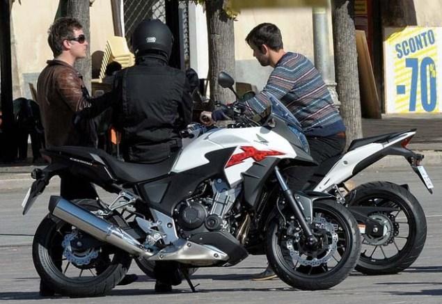 Spotted: Honda CBR500, Honda CB500R & Honda CB500X Honda CB500 spy photo 06 635x437