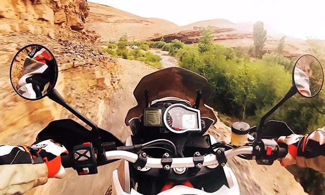 First Videos of the KTM 1190 Adventure R KTM 1190 Adventure R video