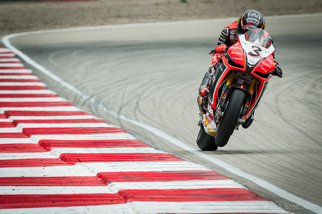 Trackside Tuesday: The Face of a Champion Max Biaggi Miller Motorsports Park WSBK Scott Jones
