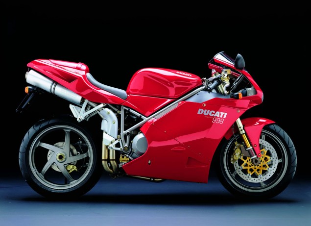 A Quarter Century of Ducati Superbikes in Photos 2001 Ducati Superbike 998 Biposto 635x461